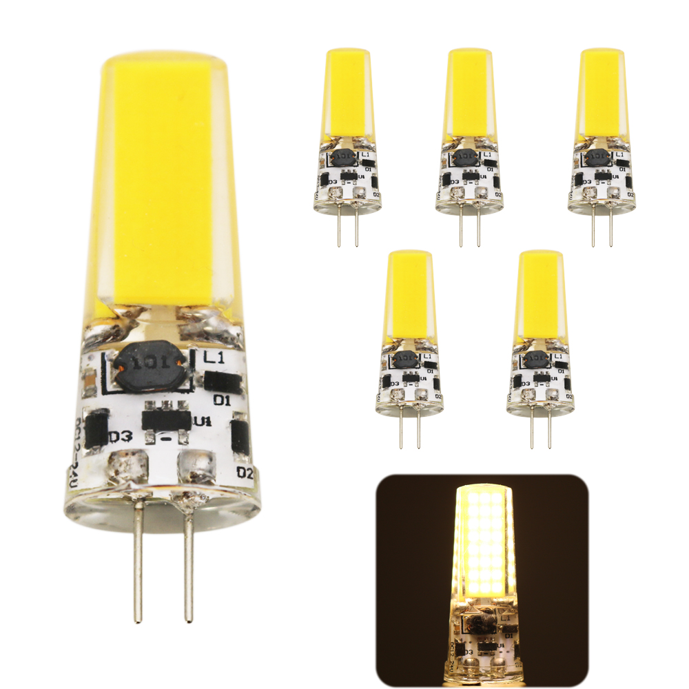 5Pcs/lot 2018 new <font><b>G4</b></font> AC DC <font><b>12V</b></font> AC 220V <font><b>Led</b></font> bulb Lamp SMD <font><b>9W</b></font> Dimmable Replace halogen lamp light 360 Beam Angle luz lampada <font><b>led</b></font> image