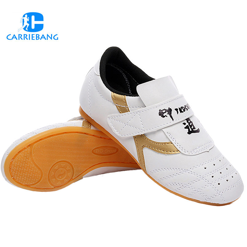 Taekwondo Shoes Non-slip Soft Sport Sneaker Kids Men Professional Wrestling Training Kickboxing Sports Men Wrestling Shoes image