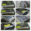 Luz de Tira del LED Interruptor de Alimentación Adaptador de CA Transformador 110 V-240 V al Adaptador de Alimentación DC12V