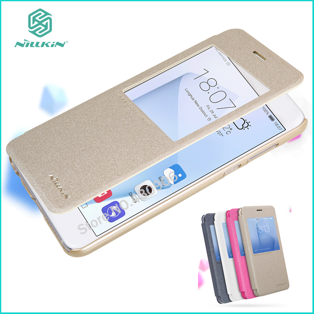 Original Nillkin For Huawei Honor 8 Case Hight Quality PU Leather Case For Huawei Honor 8