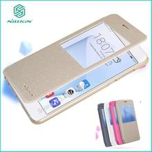 Оригинал Nillkin Для Huawei Honor 8 Case Высокое Качество PU кожаный Чехол Для Huawei Honor 8 Люкс Кожа Смарт-Чехол 5.2»