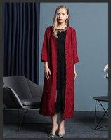 MIYAKE складки осень складки женская одежда ветровка Европейский станция high end Большие размеры свободные однобортный ветровка