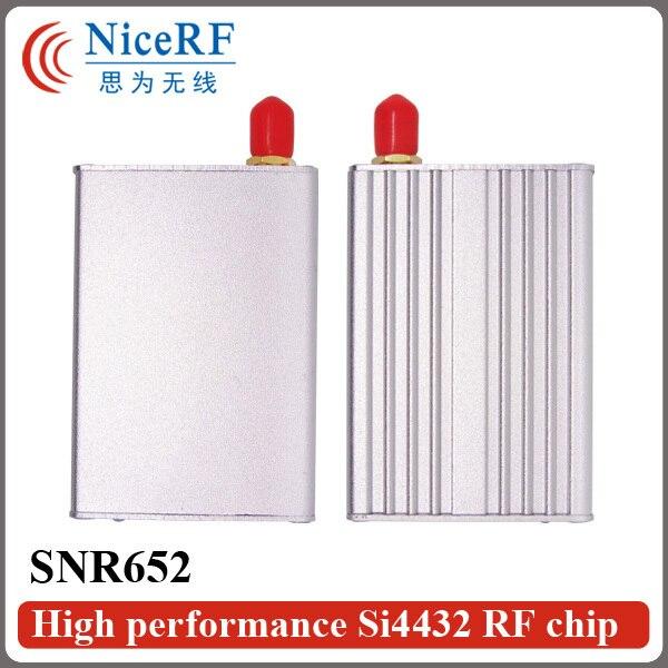 SNR652 Multi-Channel 433 МГц TTL Интерфейс Si4432 Network Node Модуль Для Беспроводной Приемопередатчик Данных
