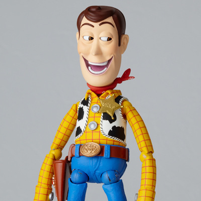 Toy Story 3 Woody Series NO. 010 Sci Fi Revoltech Special