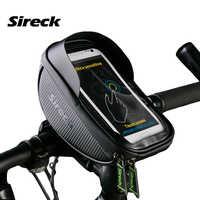Sireck велосипед держатель телефона 6,0 дюймов водостойкий смарт мобильный телефон крепление сотового телефона кронштейн велосипедный Руль де...