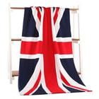 UK British United Kingdom Flag Bath Towel Drying Washcloth Swimwear Shower 70*140