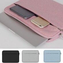 """13 """"14"""" 15 """"ноутбук рукава Дело Мягкая портативных ПК сумка для Dell Lenovo Toshiba HP ASUS Acer 11 12 дюймов 15.6 дюймов мужчин чехол"""