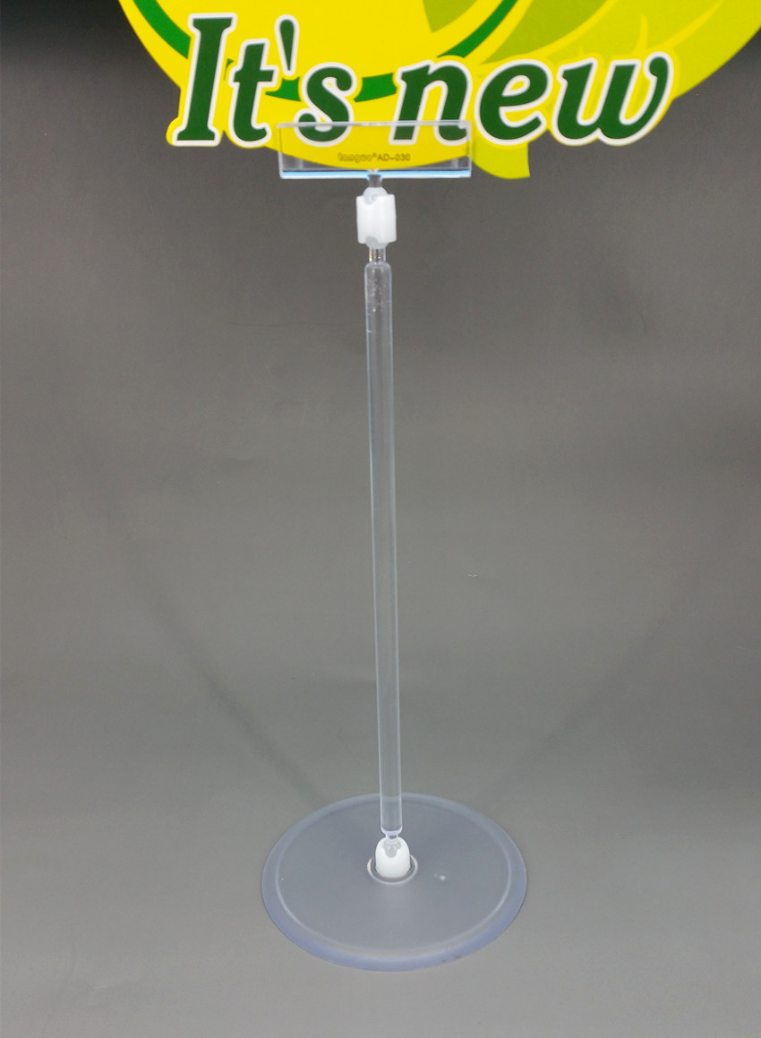 Buy Clear Pop Plastic Display Sign Paper