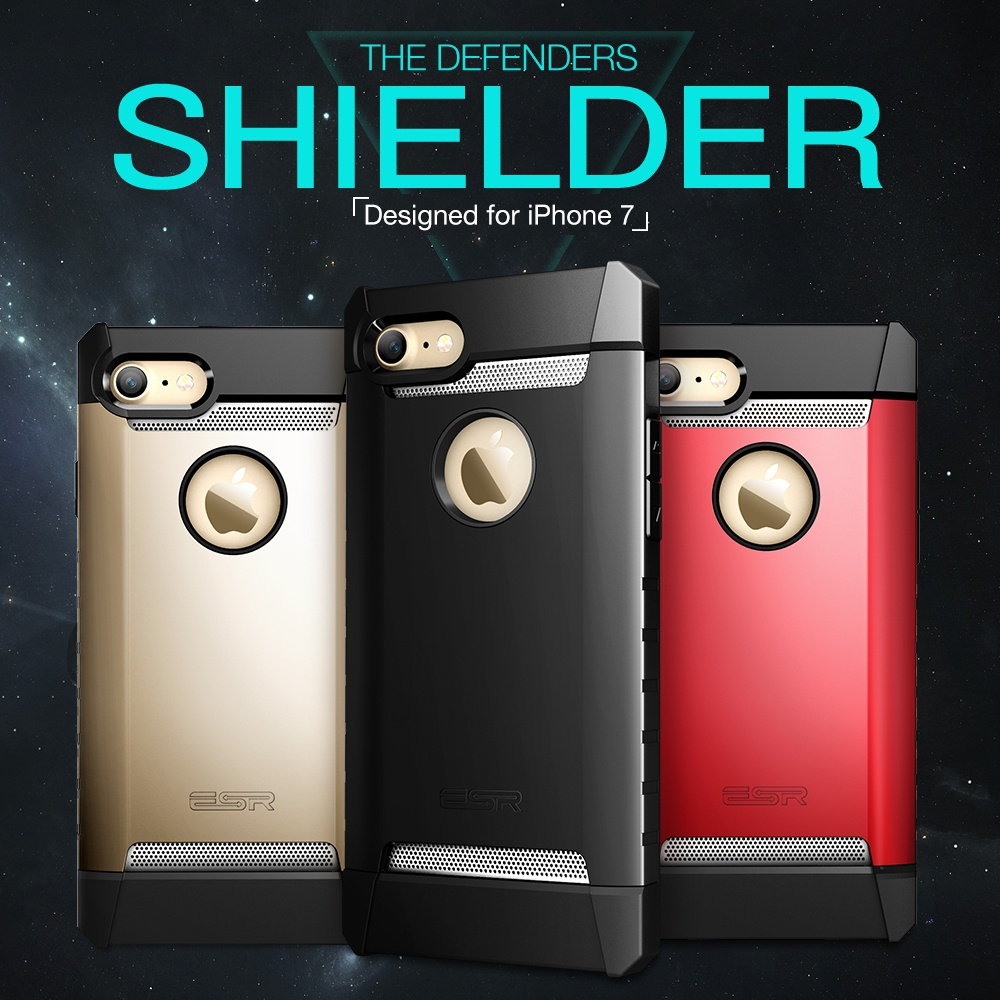 the latest 7986f b582d US $13.99 |Case for iPhone 7/7 Plus, ESR Hybrid Shockproof Drop Protection  Rugged Case Duty Armor Bumper Cover case for iPhone7 7Plus 7P-in Fitted ...