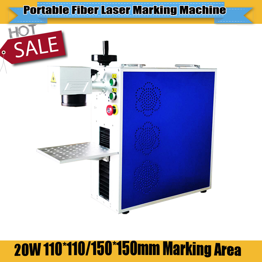 No Tax For Russia! CNC Portable Mini Fiber Laser Metal Marking Machine Fiber Laser Engraving Machine For Plastic Card Caving