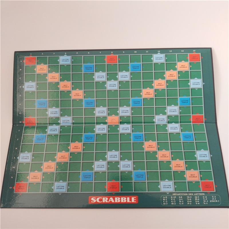 Keyfiyyətli Fransız Scrabble Oyunlar Yazı Öyrənmə Təhsil - Bulmacalar - Fotoqrafiya 3