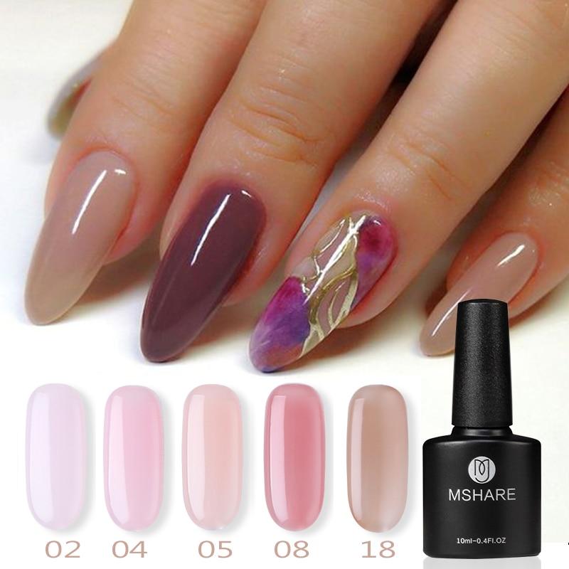 Varnish Hybrid Gel Nail Polish Nail Art Polish UV LED Gel