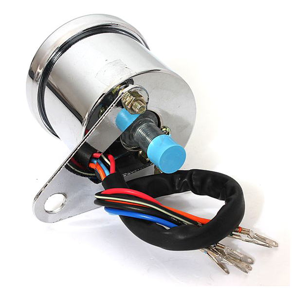 160 km h speedometer motorcycle bike double mph speedometer digital signal LED 12V in Signal Boosters from Cellphones Telecommunications