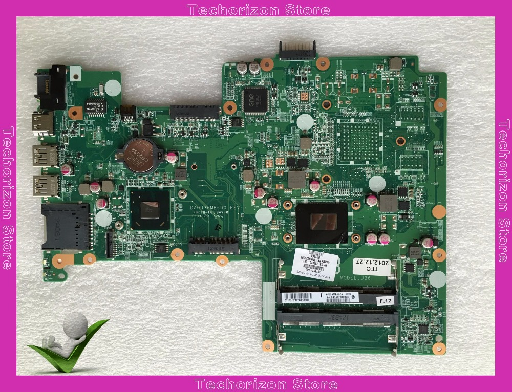 701697-001 fit for HP 15 15T 15-Bseries laptop motherboard 701697-501 Tested working 815248 501 main board for hp 15 ac 15 ac505tu sr29h laptop motherboard abq52 la c811p uma celeron n3050 cpu 1 6 ghz ddr3