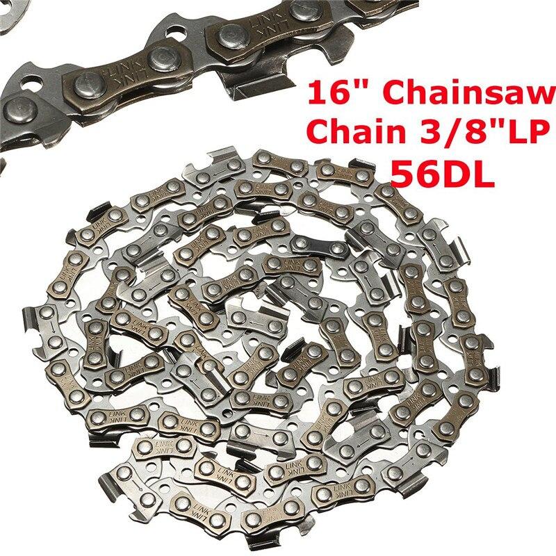 Heimwerker Ordentlich Metall Kettensäge Kette Klinge 56 Abschnitt 3/8 lp Sah Kette Zubehör Für Generische Durable Qualität