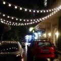 1 шт. Декоративная гирлянда на солнечной энергии светильник s, 6,5 м 30 светодиодный светильник s, сказочный светильник/светильник для улицы, до...