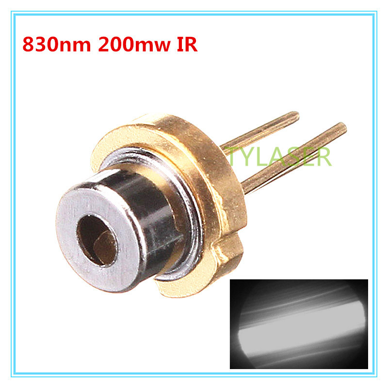 830nm 210mw  Infrared IR Laser Diode N Type With PD Feeback