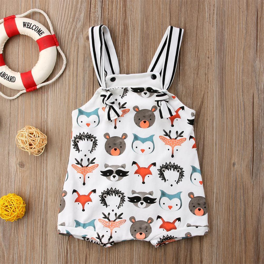 Cotton Newborn Infant Baby Girls Boys Summer   Romper   Jumpsuit Outfit Clothes