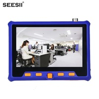 SEESII 5900 5 HD 1080P Tester Monitor TVI CVI AHD VGA CVBS PTZ RS485 Control 2MP 12V 4in1 CCTV Security Camera Analog Video