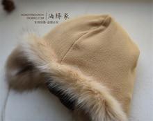 Autumn winter Women Warm Hat cartoon cute animal Faux Fur cashmere cap men and women deer head