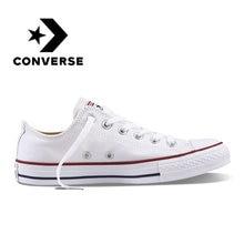 22ae2c13 Converse All Star унисекс обувь для скейтбординга для мужчин Спорт на  открытом воздухе Повседневные Классические парусиновые
