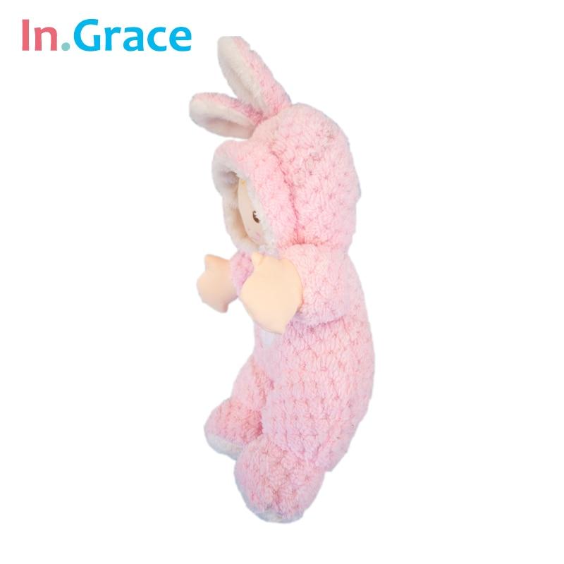 In.Grace супер сүйкімді қызғылт қоян baby - Қуыршақтар мен керек-жарақтар - фото 2