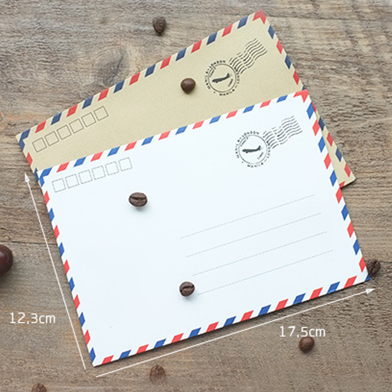 vintage western style paper envelope 40 pcs pack postcard for airmail envelopes storage write letters school supplies in Paper Envelopes from Office School Supplies