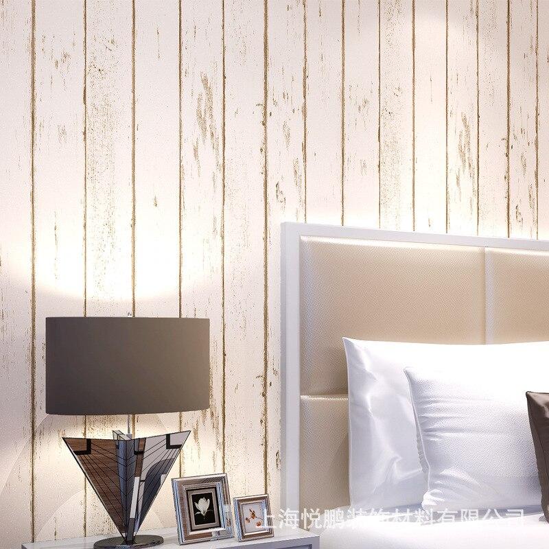 Paredes de madera en dormitorios good tambin pueden colocarse listones de madera clavados a la - Papel pintado madera ...