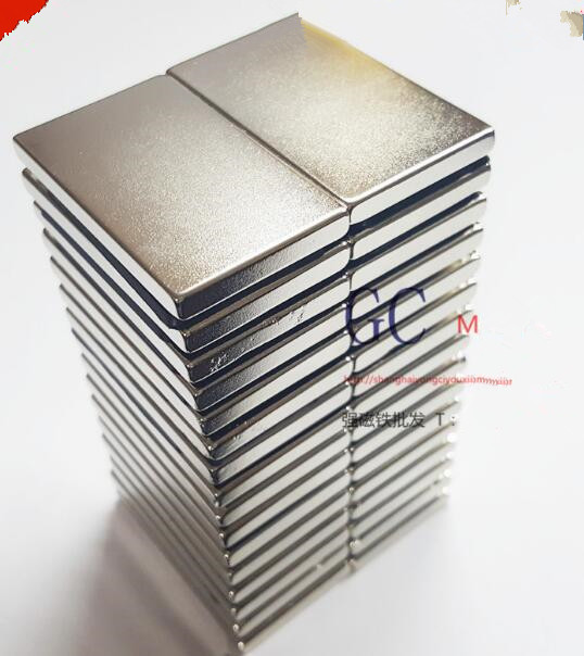 20pcs 50x30x5mm Super strong neo neodymium magnet 50x30x5, NdFeB magnet 50*30*5mm, 50mm x 30mm x 5mm magnets 50mmx30mmx5mm