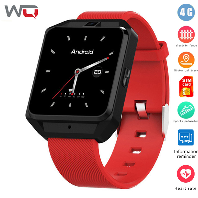 """WQ H5 Microwear H5 4G WiFi Smartwatch Phone 1.54"""" MTK6737 Quad Core 8GB ROM GPS Heart Rate Sleep Monitor PK Xiao mi band-in Smart Watches from Consumer Electronics    1"""