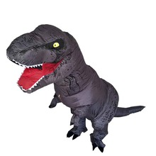 New Gray Color T REX Costume inflatable dinosaur costume For Anime Expo traje de dinosaurio inflable Blowup costume for adult