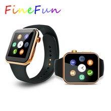FineFun Smart uhr A9 Bluetooth herzfrequenz Schrittzähler Smartwatch für IOS Android Telefon relogio inteligente reloj Smartphone