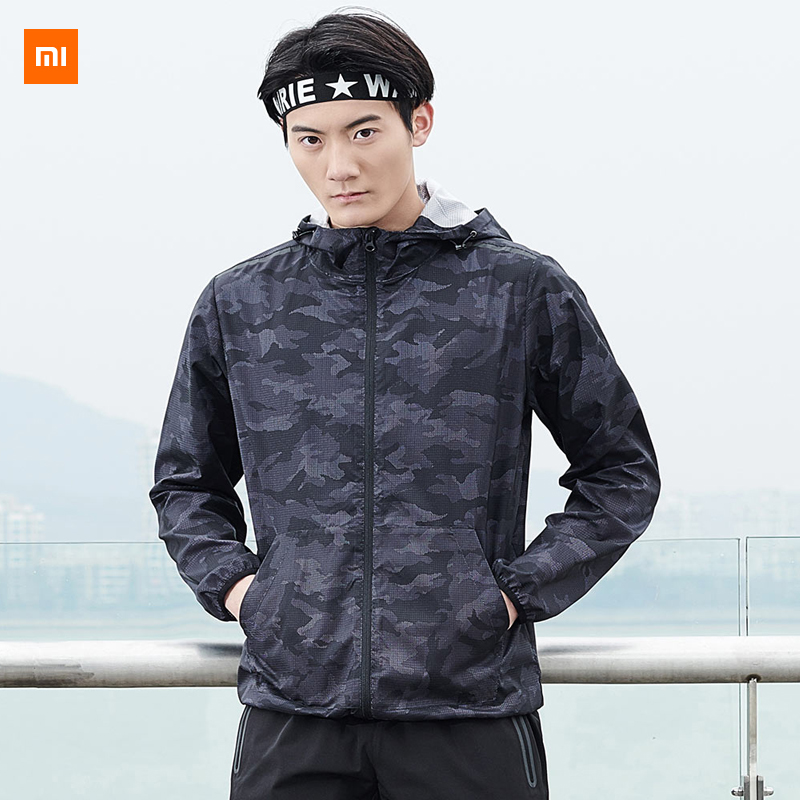 2colors Xiaomi Youpin ULEEMARK Men s Trend Camouflage Quick drying Jacket For Choose Suit For Men