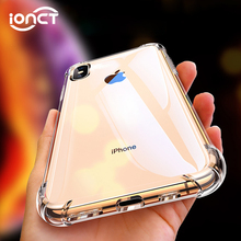 Luxury Shockproof Transparent Silicone Phone Case For iPhone