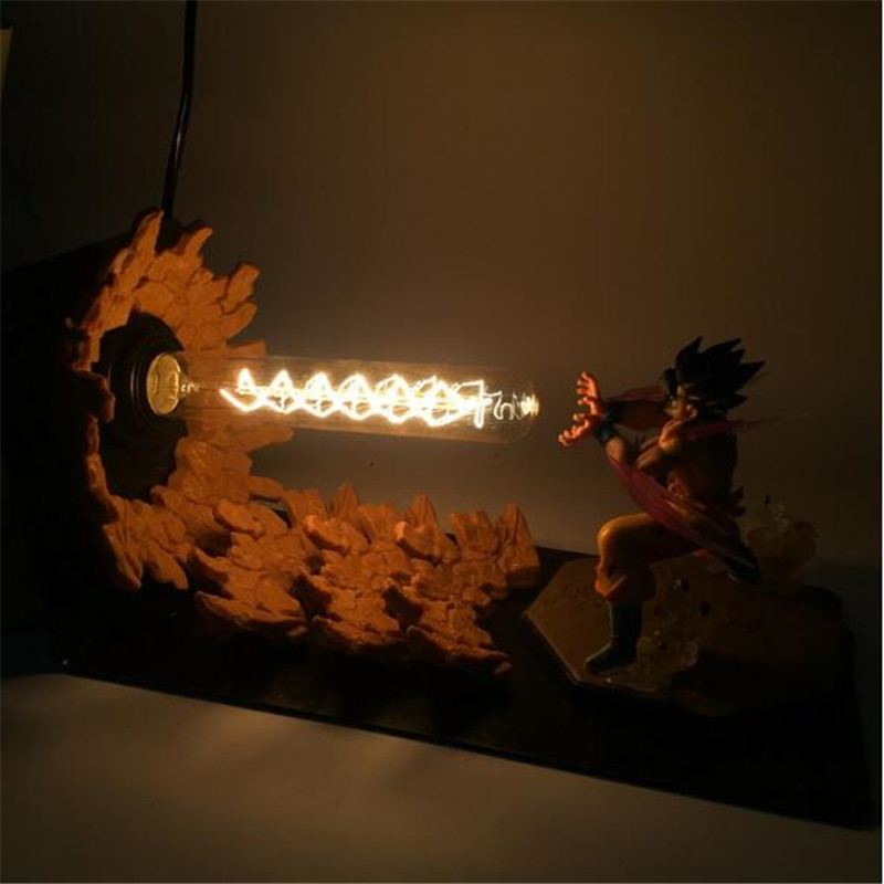 Hot Sale Dragon Ball Z Golden Shenron Crystal Ball Diy Led Set Dragon Ball Super Son Goku Dbz Led Lamp Night Lights Xmas Gift Orders Are Welcome. Led Night Lights Led Lamps