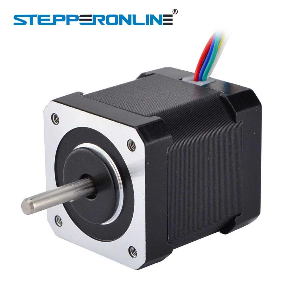 Nema 17 Stepper Motor Unipolar 32ncm453ozin 6 Lead 42x48mm 18 Wiring 18deg 12v 04a For Diy Cnc 3d Printer In From Home Improvement On