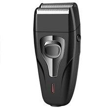 Coiffeur cheveux nettoyage rasoir pour hommes Shaper électrique rasoir chaume électrique rasoir barbe machine à raser chauve outil de finition
