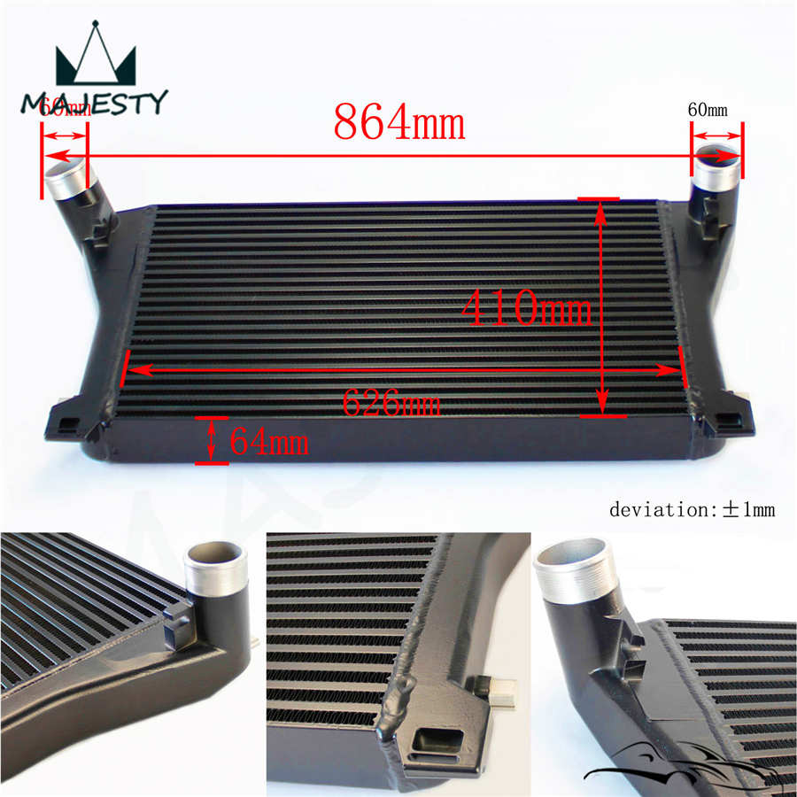 upgrade intercooler for a3 s3 vw golf gti r mk7 ea888 1. Black Bedroom Furniture Sets. Home Design Ideas