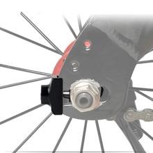 أداة ضبط سلسلة الدراجة المزودة بسدادة تثبيت مسمار من سبائك الألومنيوم للدراجة BMX Fixie مسمار لولبي للدراجة ذات سرعة واحدة