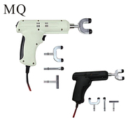100% original Chiropractic Adjusting Instrument 4 Heads adjustable intensity Therapy Electric Correction Gun Activator Massager