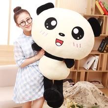 70cm Kawaii Big Head Panda Plush Toys Stuffed Soft Animal font b Pillow b font font