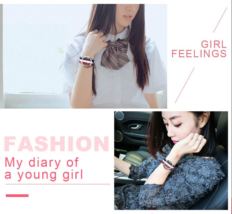 DOM: Reloj de pulsera de lujo para mujer 5