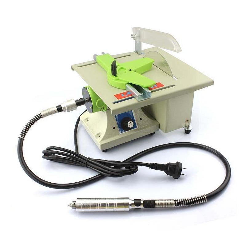 480W universalus šlifuoklis stalo pjūklo šlifavimo poliravimo pjaustymo mašina mediniams metaliniams elektriniams įrankiams