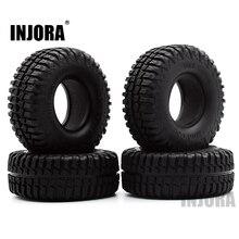 """Neumático de caucho para coche de control remoto, 4 Uds. 1,9 de neumáticos de 100MM y """"para 1:10 RC Rock Crawler Axial SCX10 90046 90047 AXI03007 Tamiya CC01 D90 D110 TF2"""