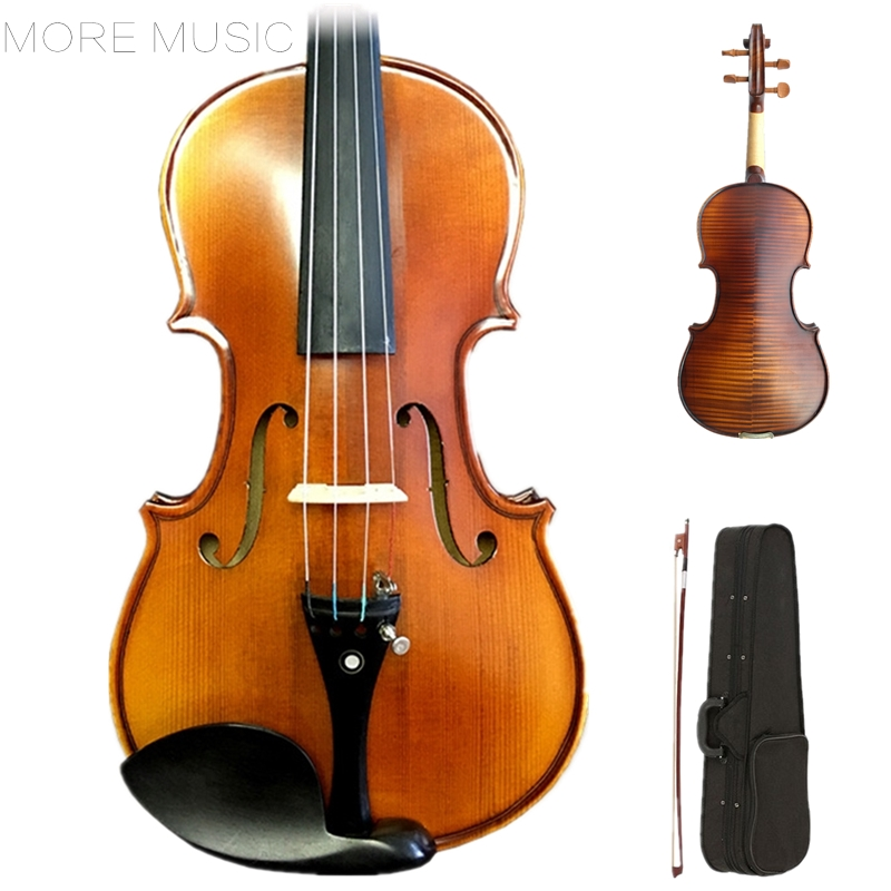 Handmade 1 4 3 4 4 4 Violin Professional Wood Violin Grading Maple Spruce violin 6