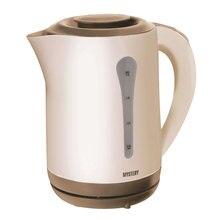 Чайник электрический MYSTERY MEK-1638 (Мощность 1800 Вт, объем 2.5 л, пластиковый корпус, съемный фильтр, вращение 360°)