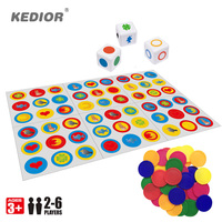 Fast Paced Observation Find And Match Board Game Popular Card Puzzle Game Children Educational Toys For Family Interactive Game