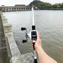 1.8 2.4m krótki węgiel ultralight wędka castingowa combo 17 + 1BB 6.3: 1 lewego prawego kołowrotka przynęta łódź rock stick pesca pole