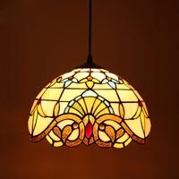 Tiffany Baroque European retro chandelier living room hallway hallway cozy Creative light home deco lamp