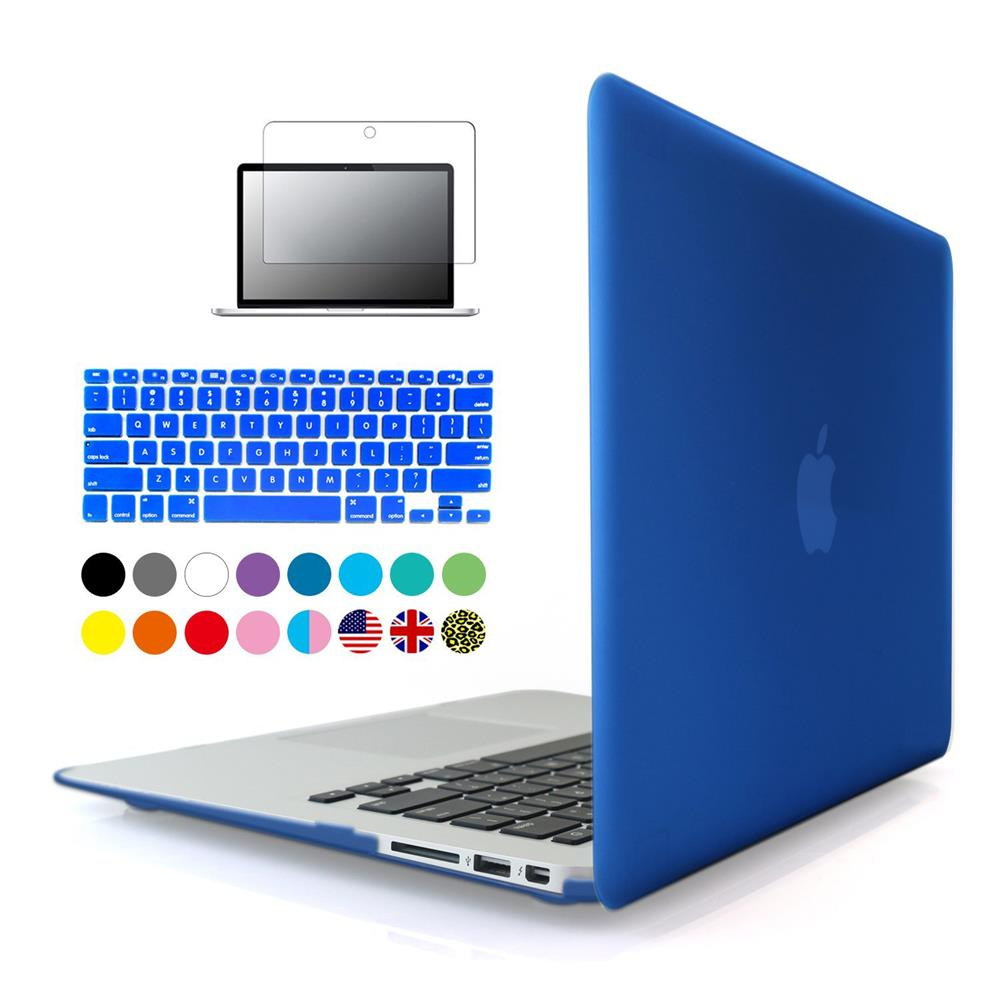 3in1 matte case sleeve for apple macbook air pro retina 11 12 13 15 inch protector for mac book. Black Bedroom Furniture Sets. Home Design Ideas